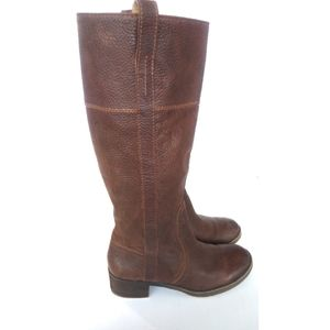 Luck Brand Tall Leather Riding Boots